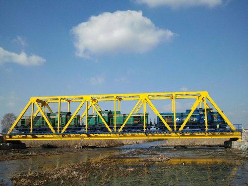 próbne obciążenie mostu / Inne realizacje naterenie Polski (1)