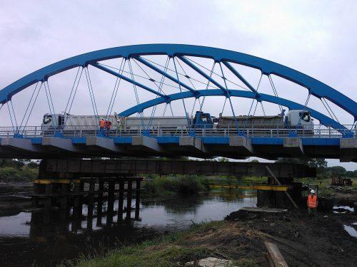 próbne obciążenie mostu / Inne realizacje naterenie Polski (10)