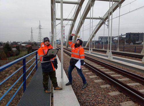 ekspertyza mostu / L.19-002 badanie wieszaków GF Mosty