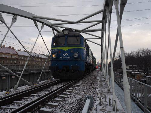 próbne obciążenie mostu / L.19-005 E30 Kraków (odc. 2,3,4,5,7) Strabag