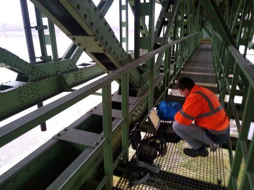 badanie mostu / L.20-084 Pomiary drgań Góra Kalwaria WM Inżynierowie
