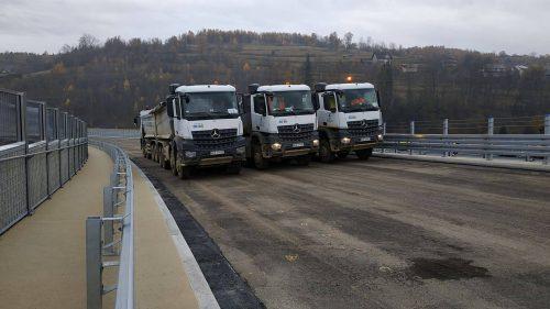 próbne obciążenie mostu / W.17-017 IDS-BUD (KPRM) s7 Lubień